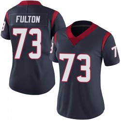 Zach Fulton Houston Texans Women's Limited 100th Vapor Nike Jersey - Navy